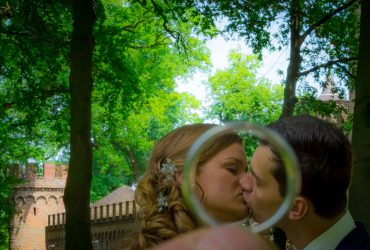 Bruidsreportage Sint Oedenrode en kasteel Henkenshage, Kim & Stefan