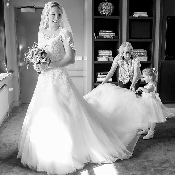 Bruidsreportage Finley, Het Witte Huis
