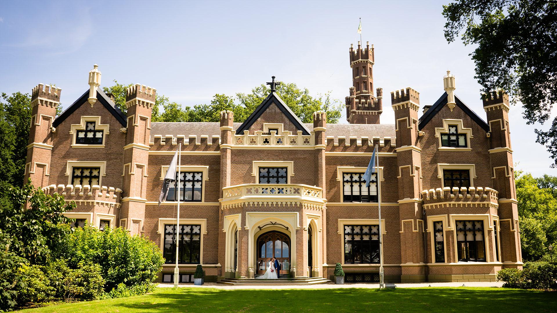 Bruidsfotograaf Den Bosch bruidsreportage kasteel de Schaffelaar