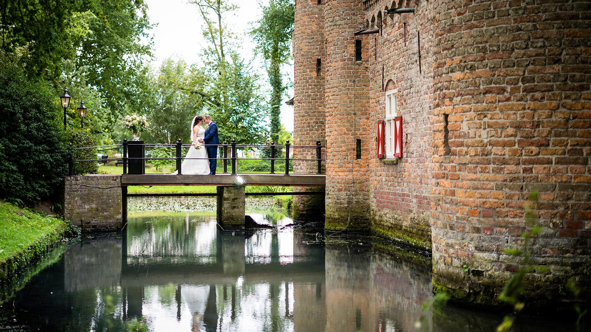 Bruidsfotograaf Den Bosch Bruidsreportage kasteel henkenshage