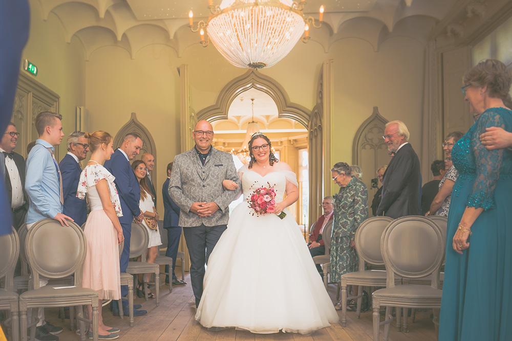 Bruidsreportage kasteel de