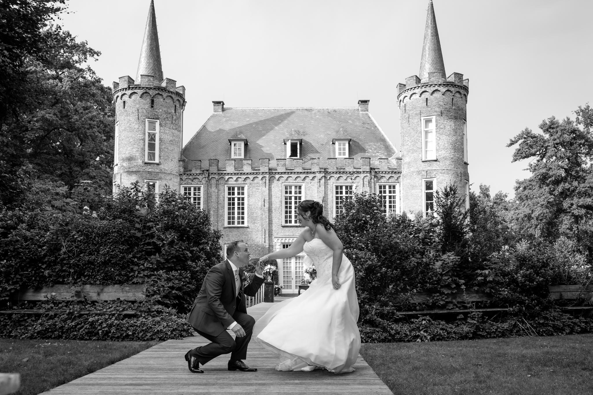 trouwreportage kasteel Henkenshage