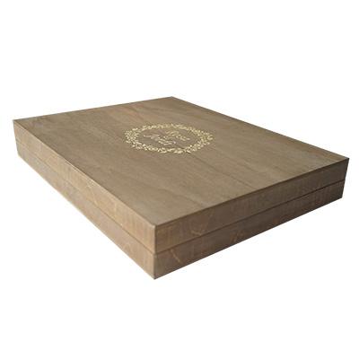 Trouwalbum hout inclusief box