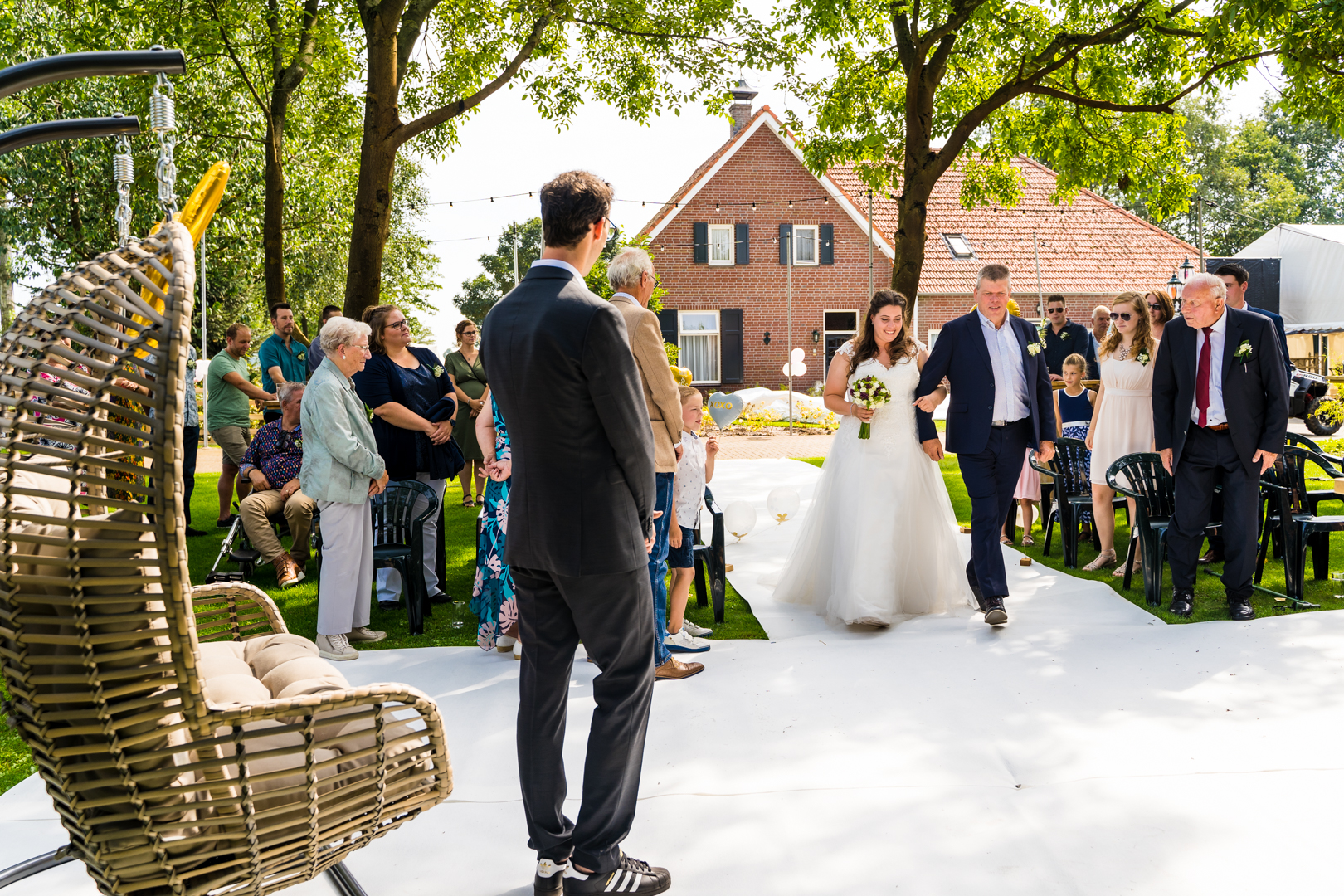 dance festival bruiloft