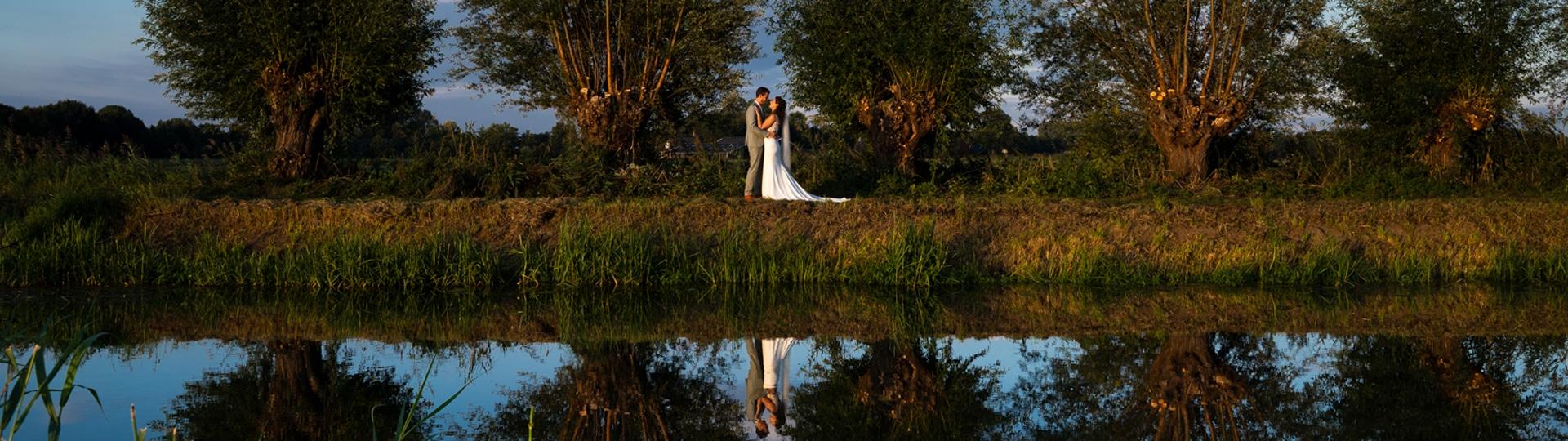 Festival bruiloft in Brabant